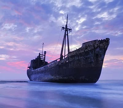 Услуги - Нарязване на кораби за скрап