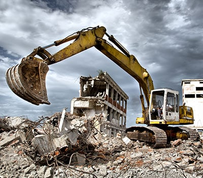 Услуги - Промишлен демонтаж